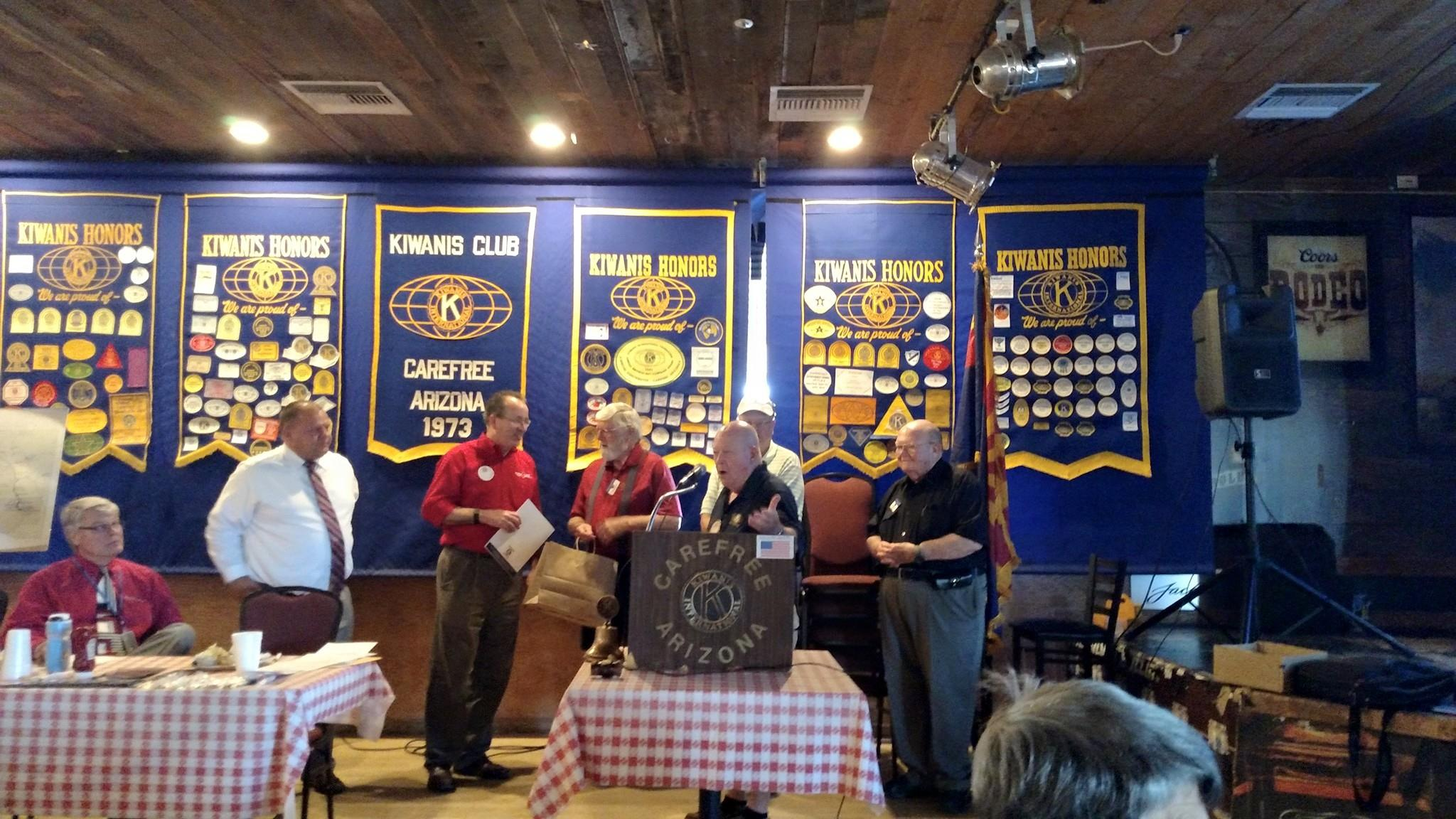 Tech 4 Life joins Kiwanis of carefree