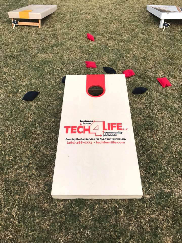 Anthem young professionals 2018 - 2 corn hole toss