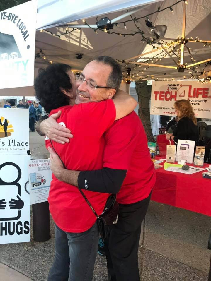 Taste of Cave Creek 2019 - free hugs