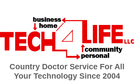 Tech 4 Life, LLC Logo