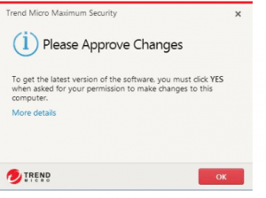Trend Micro steps to update