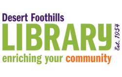 Desert foothills library in Cave Creek