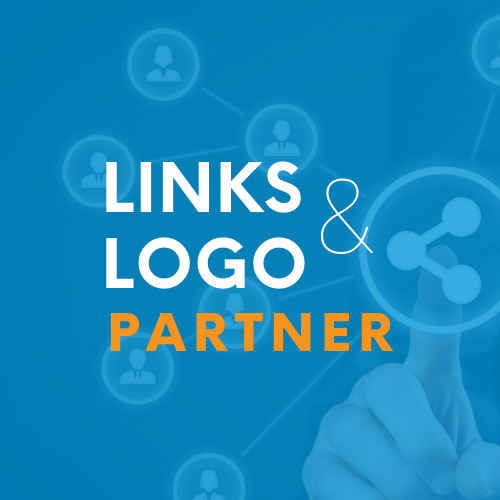 digital marketing using links and logos
